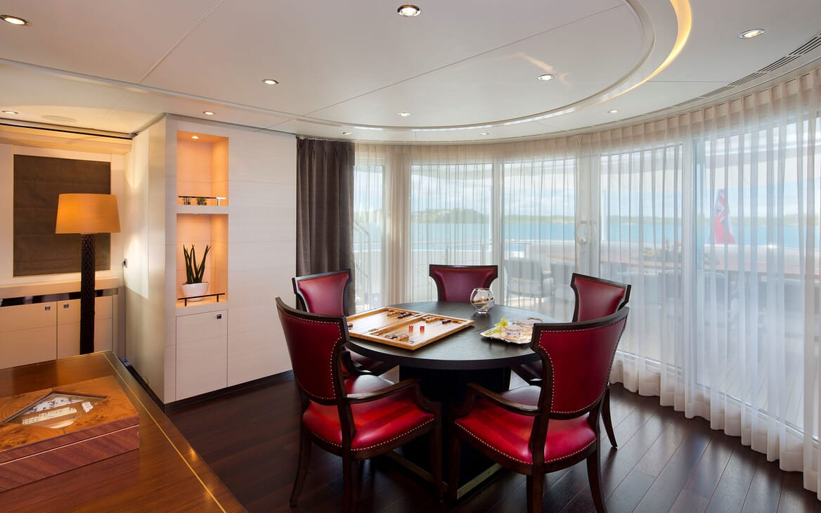 Motor Yacht LADY L Games Room