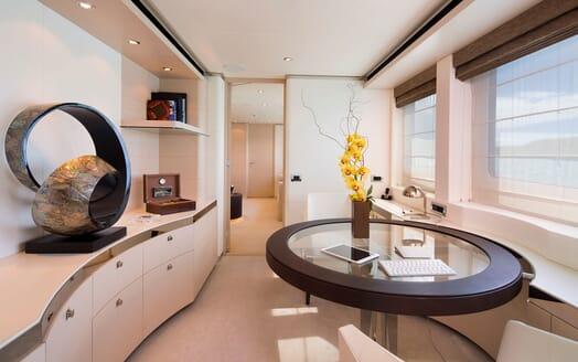 Motor Yacht LADY L Office