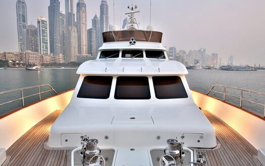 Motor Yacht Nema foredeck