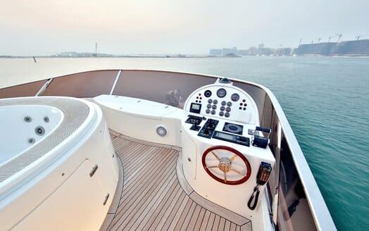 Motor Yacht Nema flydeck