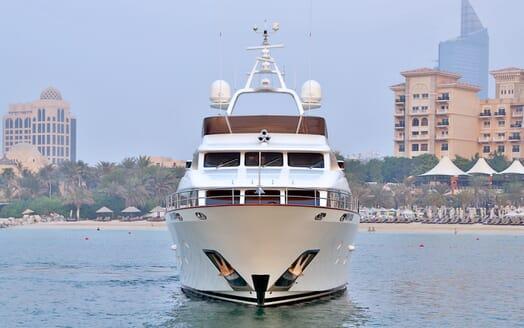 Motor Yacht Nema bow