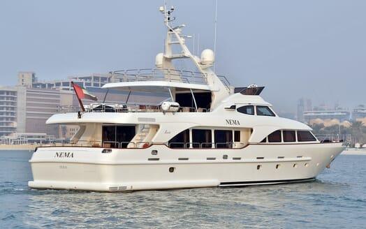 Motor Yacht Nema aerial