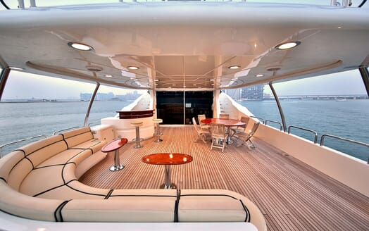 Motor Yacht Nema main deck