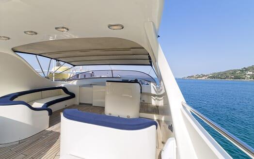 Motor Yacht Bugia flydeck