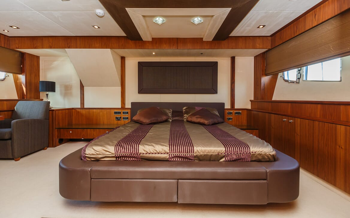 Motor Yacht The Best Way Master Stateroom