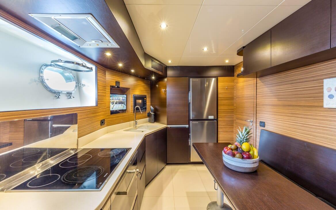 Motor Yacht JAJARO galley