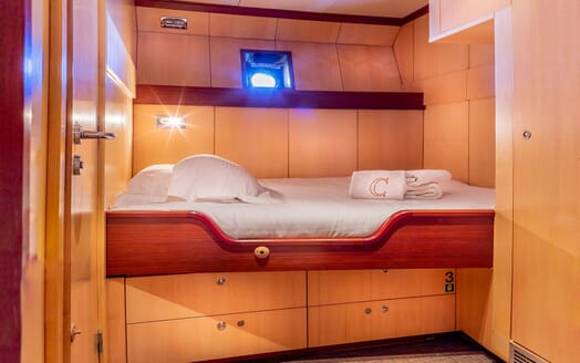 Motor Yacht CLARA ONE Guest Stateroom