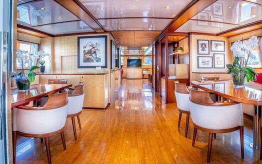 Motor Yacht CLARA ONE Main Deck