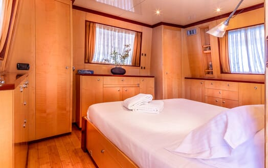 Motor Yacht CLARA ONE Guest Double Stateroom
