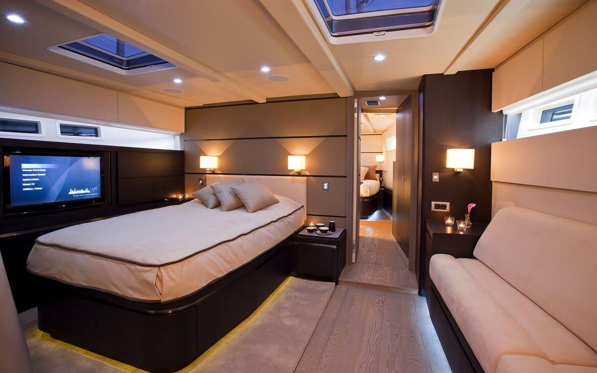 Sailing Yacht AEGIR Guest Stateroom