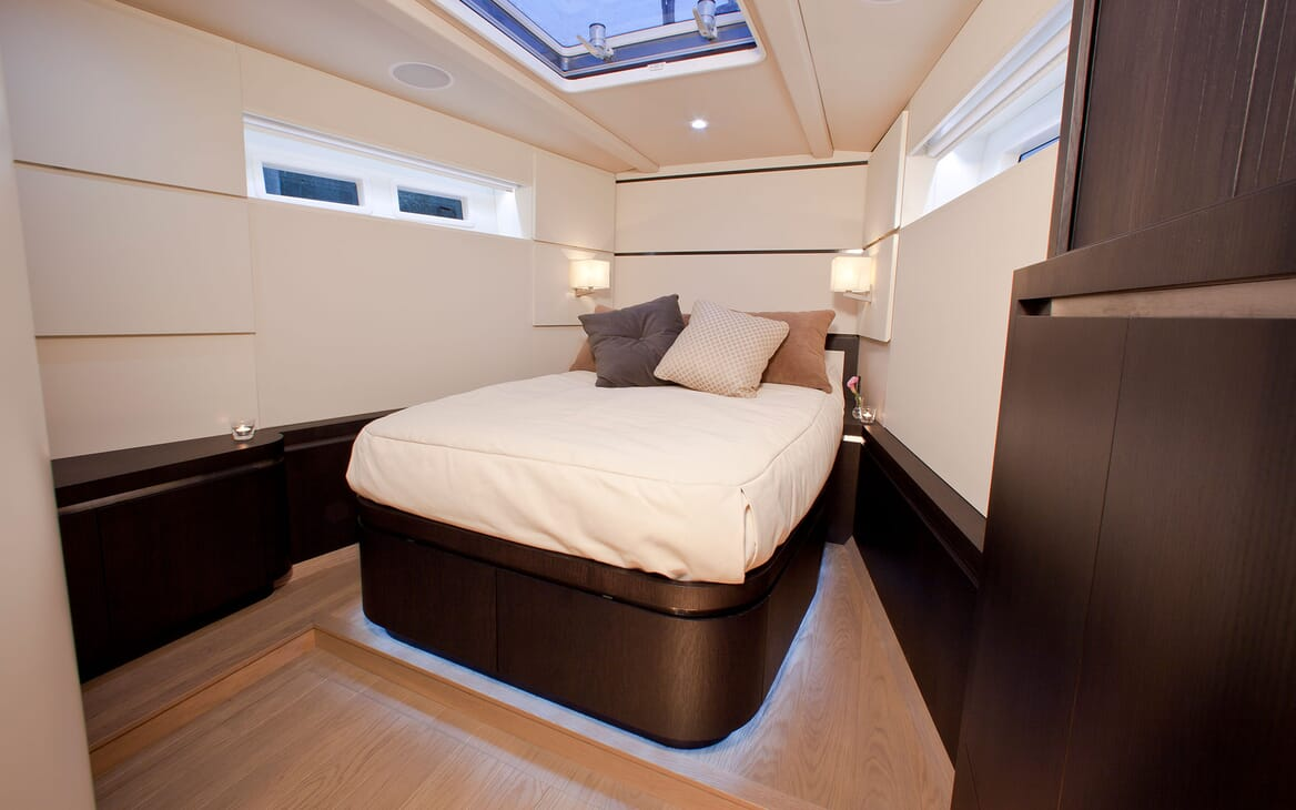 Sailing Yacht AEGIR Master Stateroom