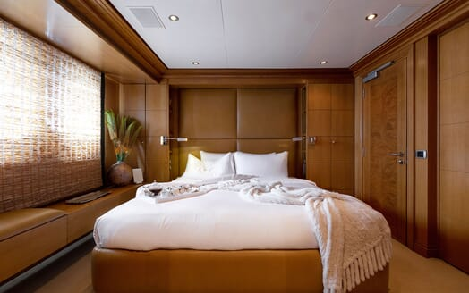 Motor Yacht HELIOS Guest Double Stateroom