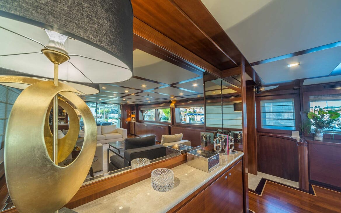 Motor Yacht Seventh Sense interior design