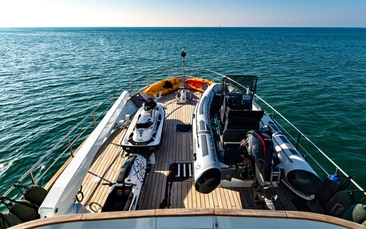 Motor Yacht Persuader Tenders and Toys