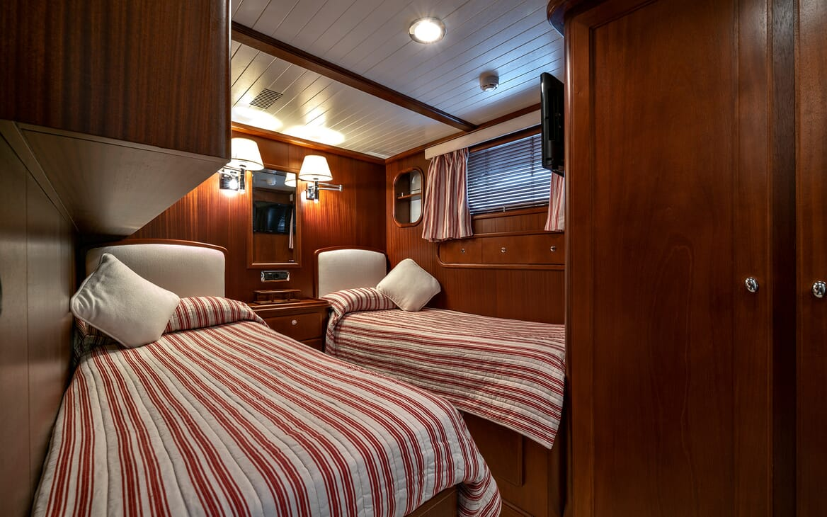 Motor Yacht Persuader Twin Stateroom