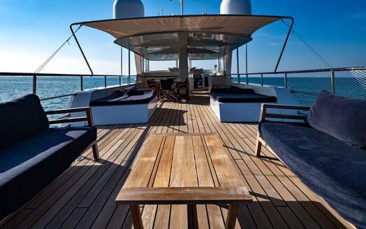 Motor Yacht Persuader Sun Deck