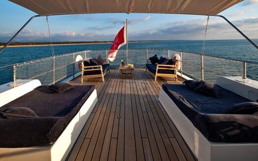 Motor Yacht Persuader Aft Deck