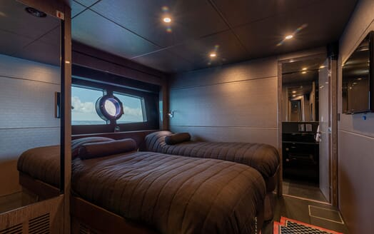 Motor Yacht Mirka Aft Deck Seating