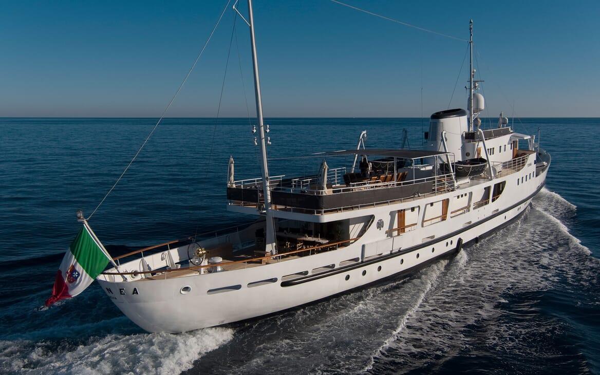 Motor Yacht DIONEA Underway