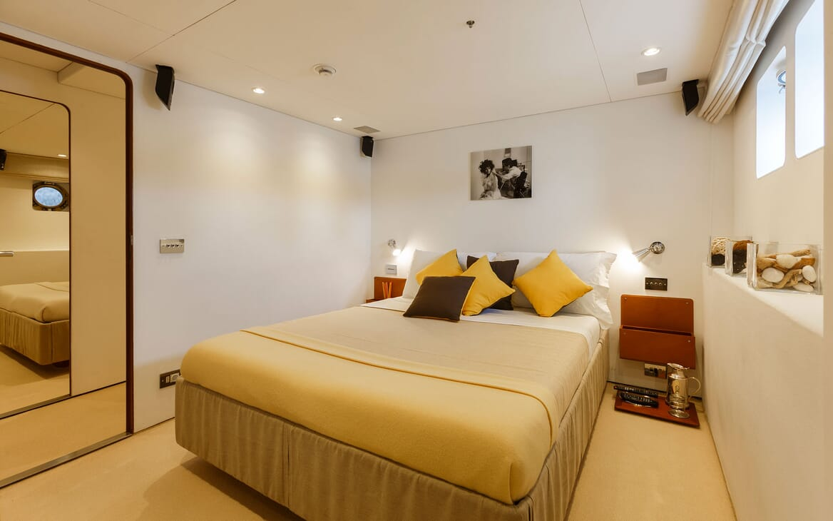 Motor Yacht DIONEA Master Stateroom