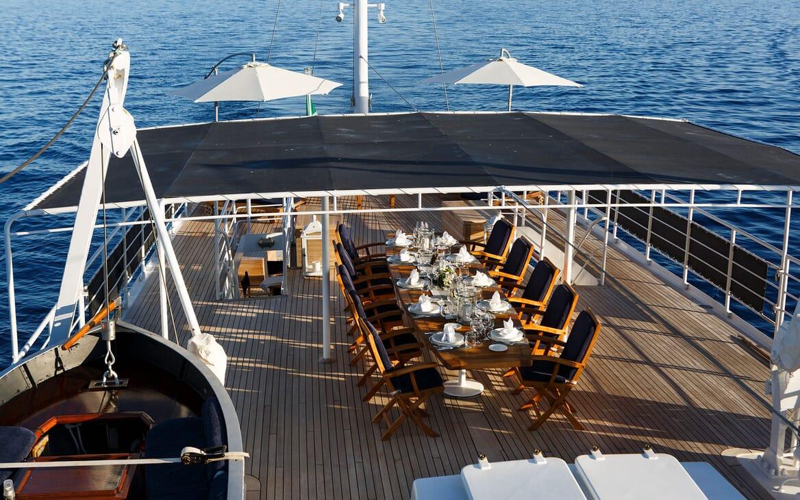 Motor Yacht DIONEA Sun Deck
