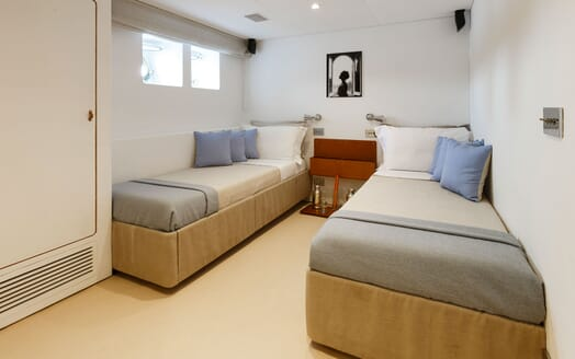 Motor Yacht DIONEA Double Twin Stateroom