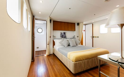 Motor Yacht DIONEA Double Guest Stateroom