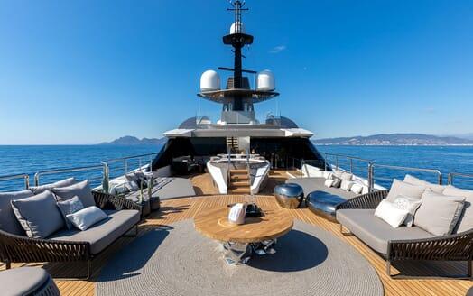 Motor Yacht SOLO Sun Deck