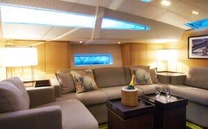 Sailing Yacht Alix Saloon