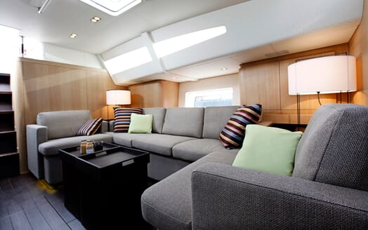 Sailing Yacht Alix Main Saloon