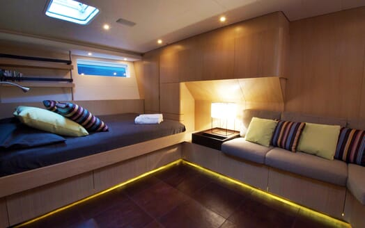 Sailing Yacht Alix Double Guest Stateroom