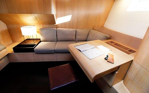 Sailing Yacht Alix Stateroom Desk