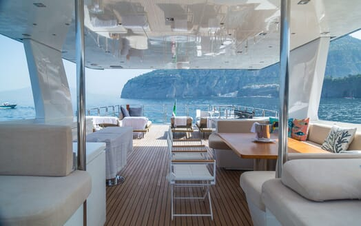 Motor Yacht DON MICHELE Sun Deck