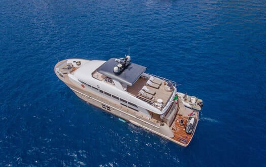 Motor Yacht DON MICHELE Aerial