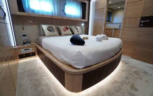 Motor Yacht DON MICHELE Master Stateroom