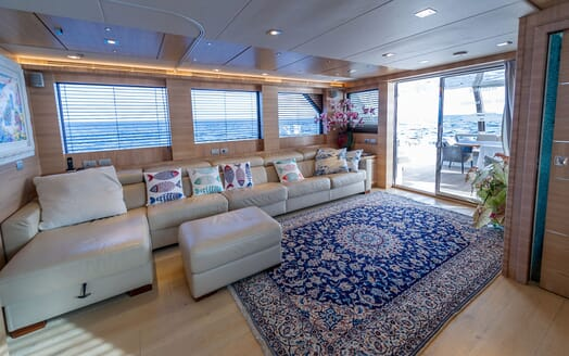 Motor Yacht DON MICHELE Saloon