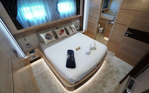 Motor Yacht DON MICHELE Double Stateroom