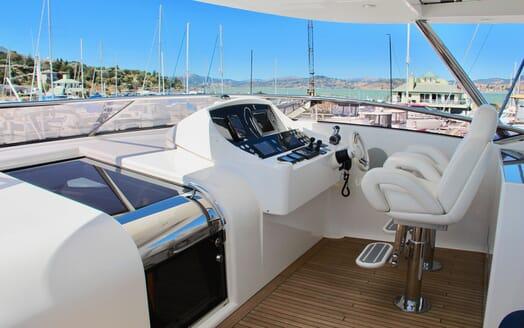 Motor Yacht Emrys controls