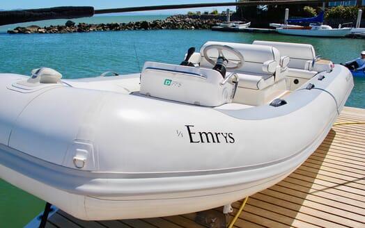 Motor Yacht Emrys tender