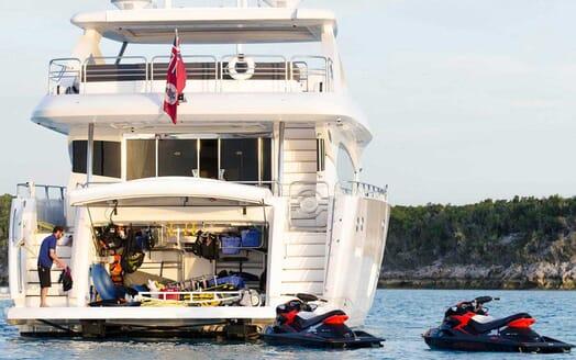 Motor Yacht Emrys toys