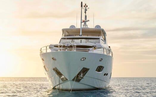 Motor Yacht Emrys bow