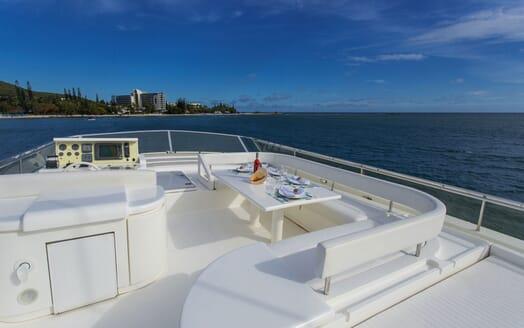 Motor Yacht Iroue flydeck