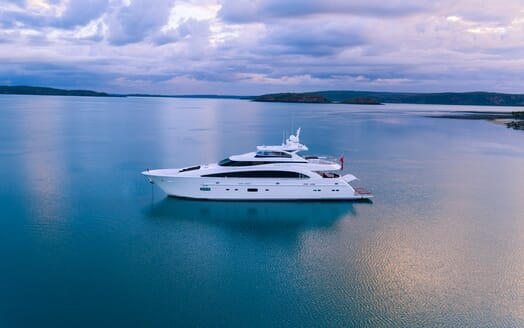 Motor Yacht Paradise anchored