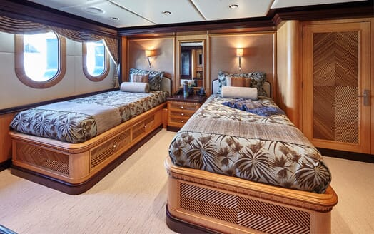 Motor Yacht COCOA BEAN Guest Twin Stateroom