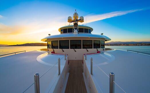 Motor Yacht COCOA BEAN Bridge