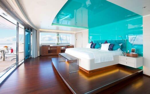 Sailing Yacht AQUIJO Master Stateroom 2