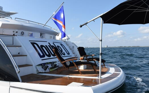 Motor Yacht Double D aft