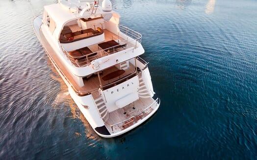 Motor Yacht Pearl aerial