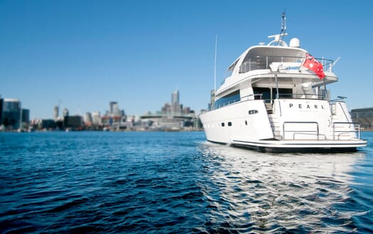 Motor Yacht Pearl aft