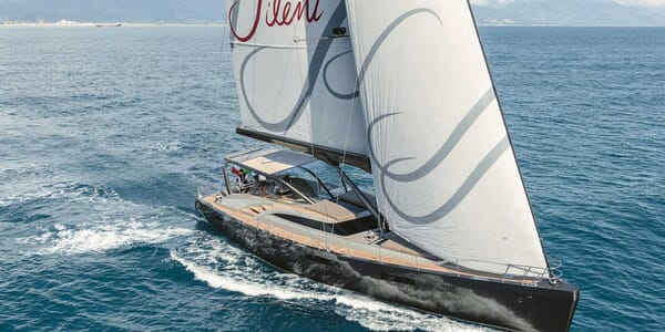 Sailing Yacht Gigreca underway